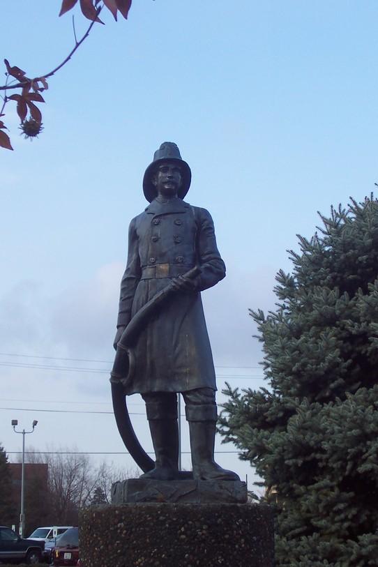 Walla walla fire statue