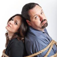 Kevin flynn and wife tied up