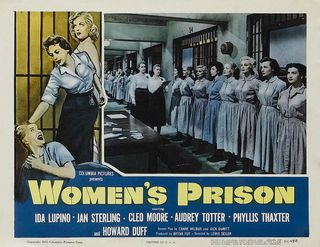 Poster - Women's Prison (1955)_08