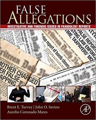 False allegations of crime